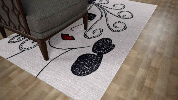 power of Remember 07 HandKnots Rug