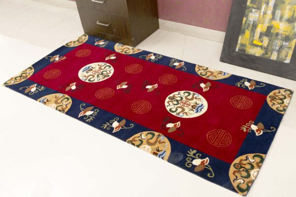 jodi hand knotted custom rug