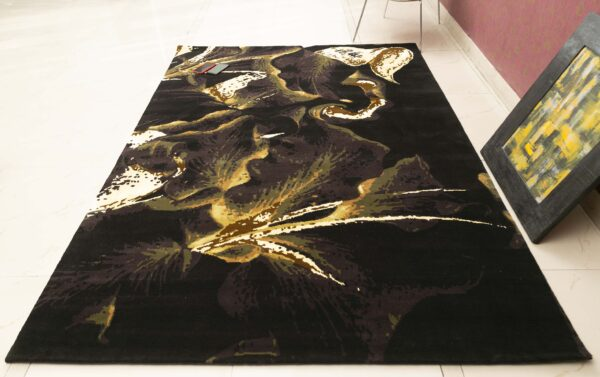 lily hand knotted custom rug